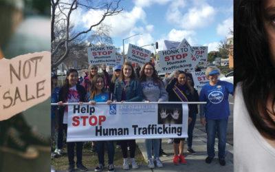 Human Trafficking Awareness Walk Draws over 200